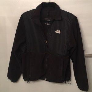 Medium Black fleece Northface Jacket